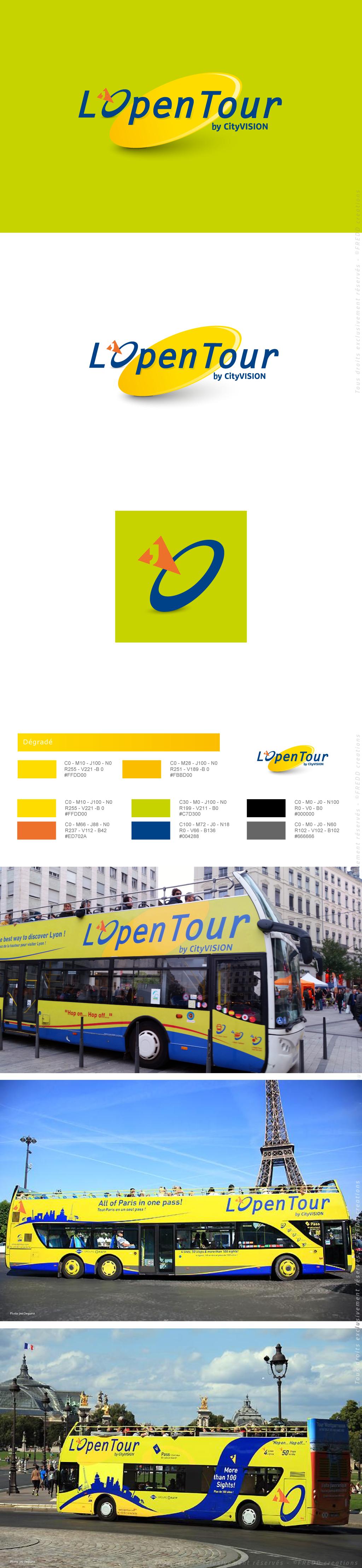 Identité Bus L'Open Tour